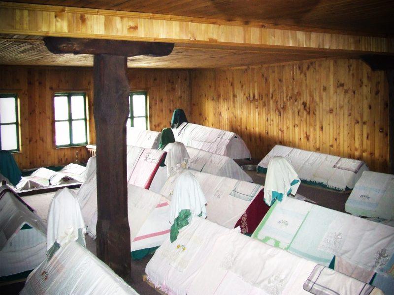 Inside a ward in Kosovo